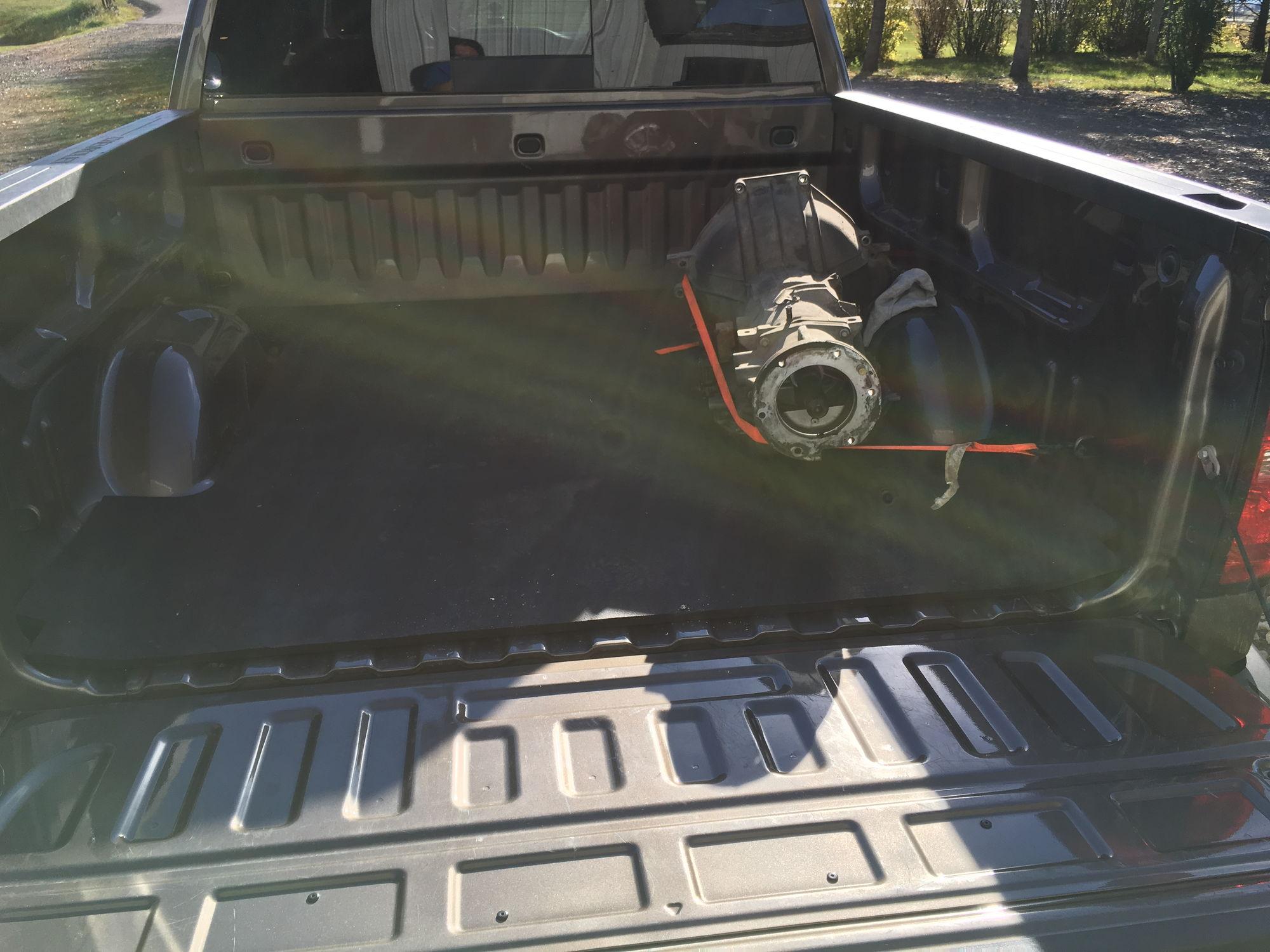 Picked up the rebuilt transmission