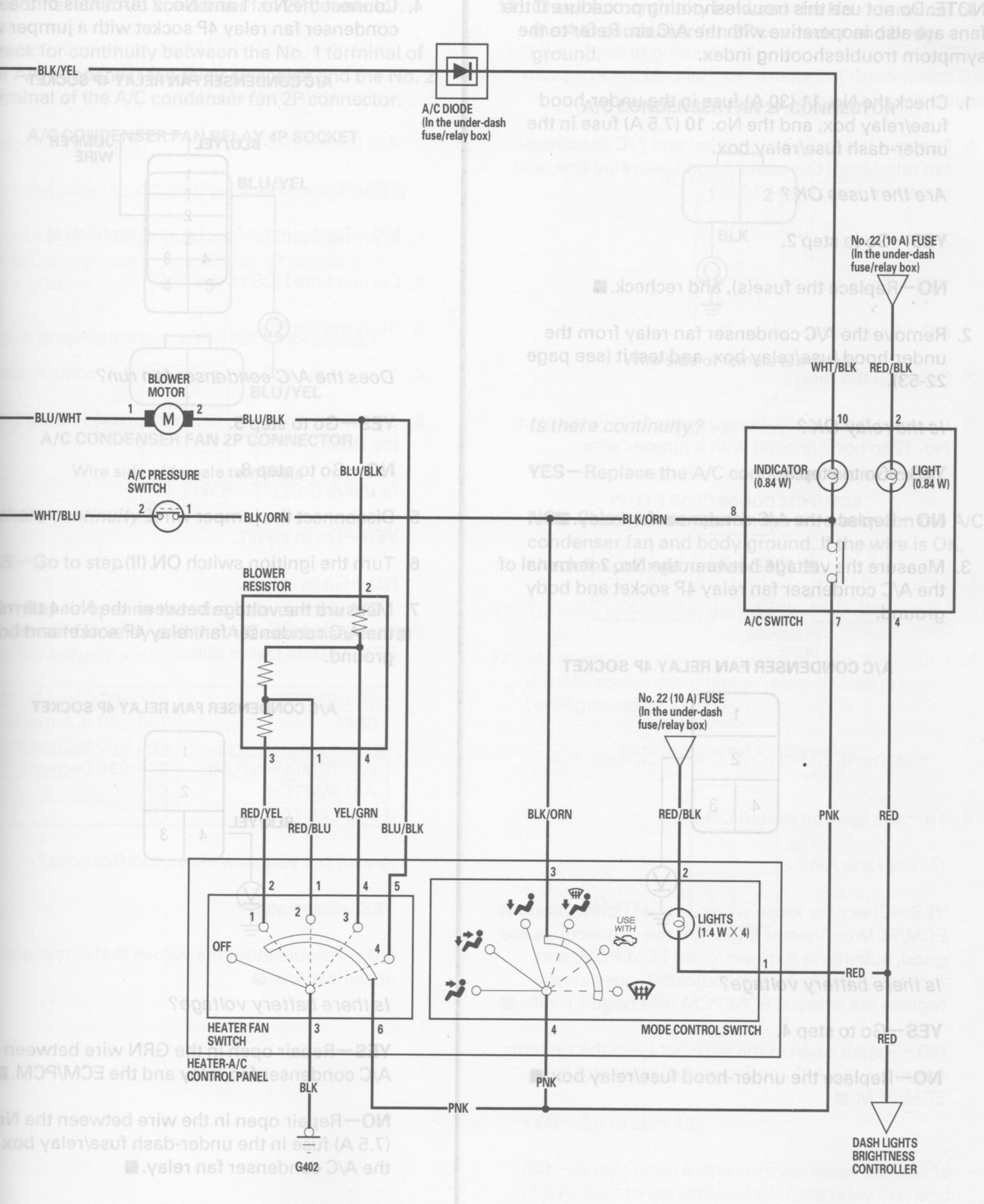 wiring schamatic a/c system - unofficial honda fit forums  unofficial honda fit forums