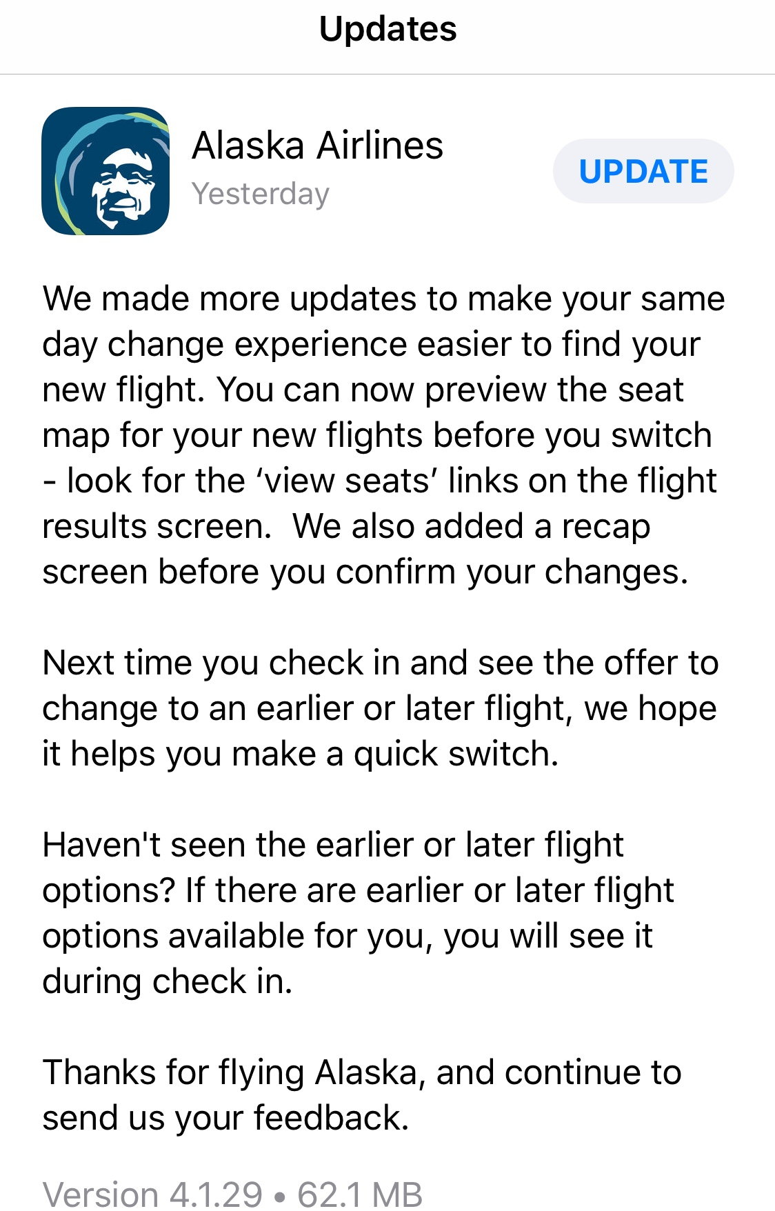Same Day Confirmed Change - Page 9 - FlyerTalk Forums