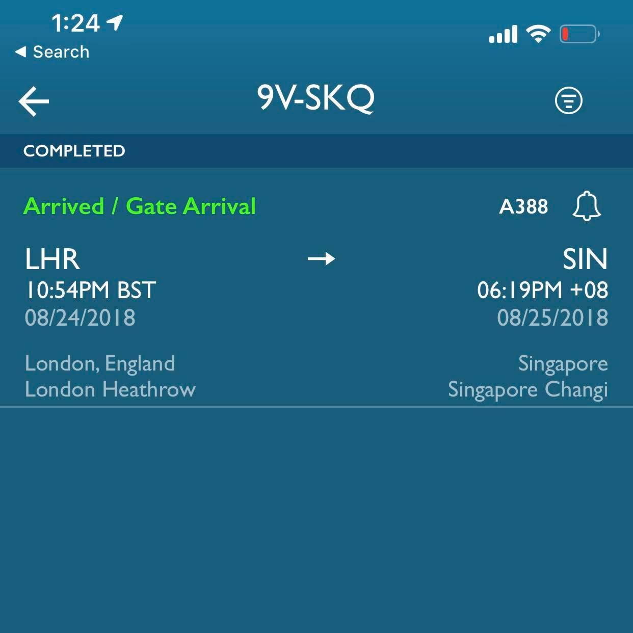 Singapore New Suites Routes... - FlyerTalk Forums