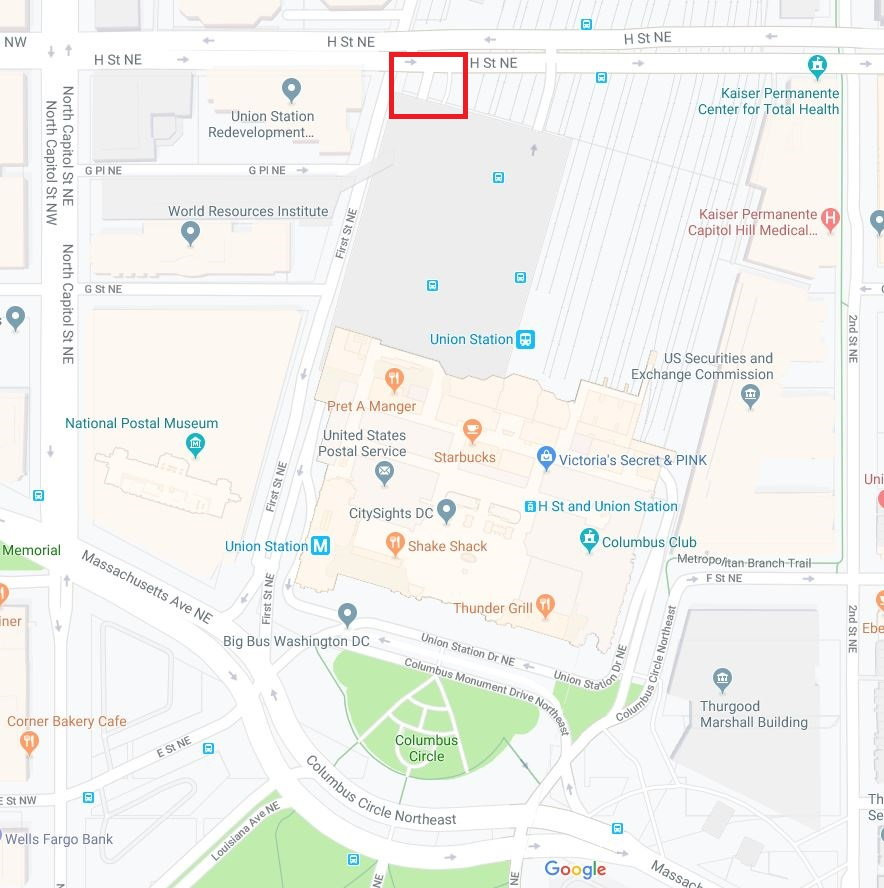 Where is Rental Car return at Union Station? - FlyerTalk Forums