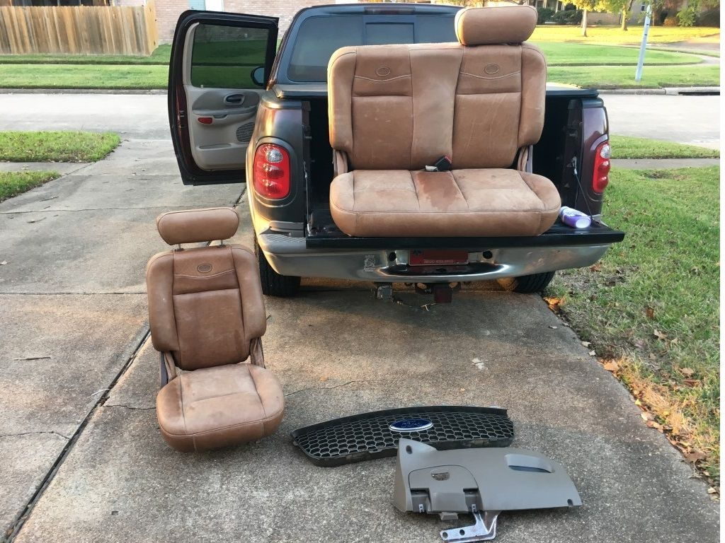 how to put dicki seats in a ford