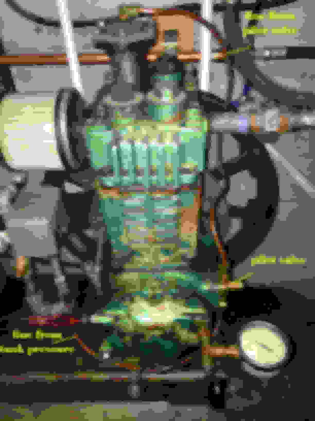 quincy 310 compressor unloader problem - Ford Truck
