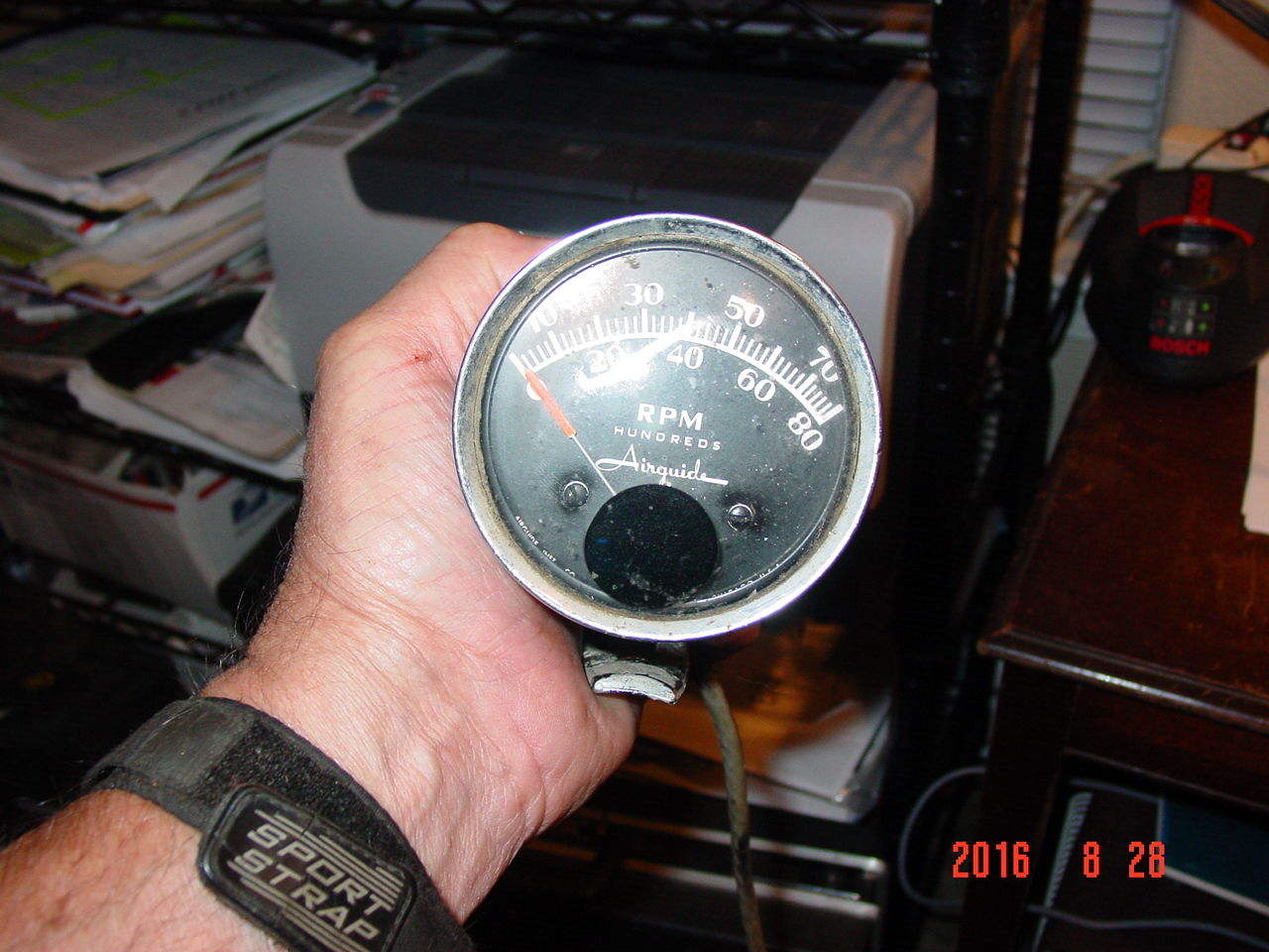 Airguide Tachometer Wiring Diagram Free Download 4 Wire Anyone Using An Tach Ford Truck Enthusiasts Forums Speed Sea At