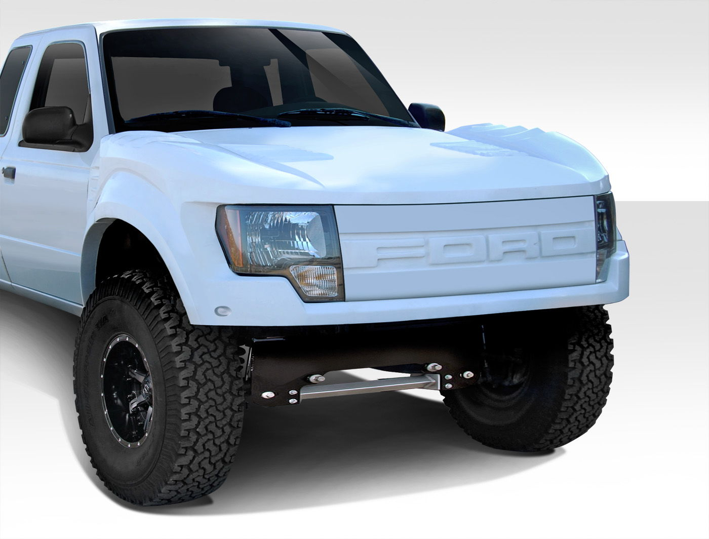 Duraflex Raptor Conversion Kits Ford Truck Enthusiasts