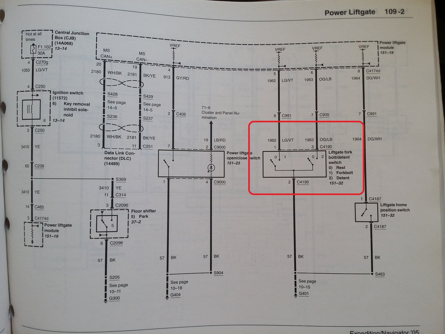 truck lift gate wiring diagrams bypass liftgate ajar switch  page 2 ford truck enthusiasts forums  bypass liftgate ajar switch  page 2