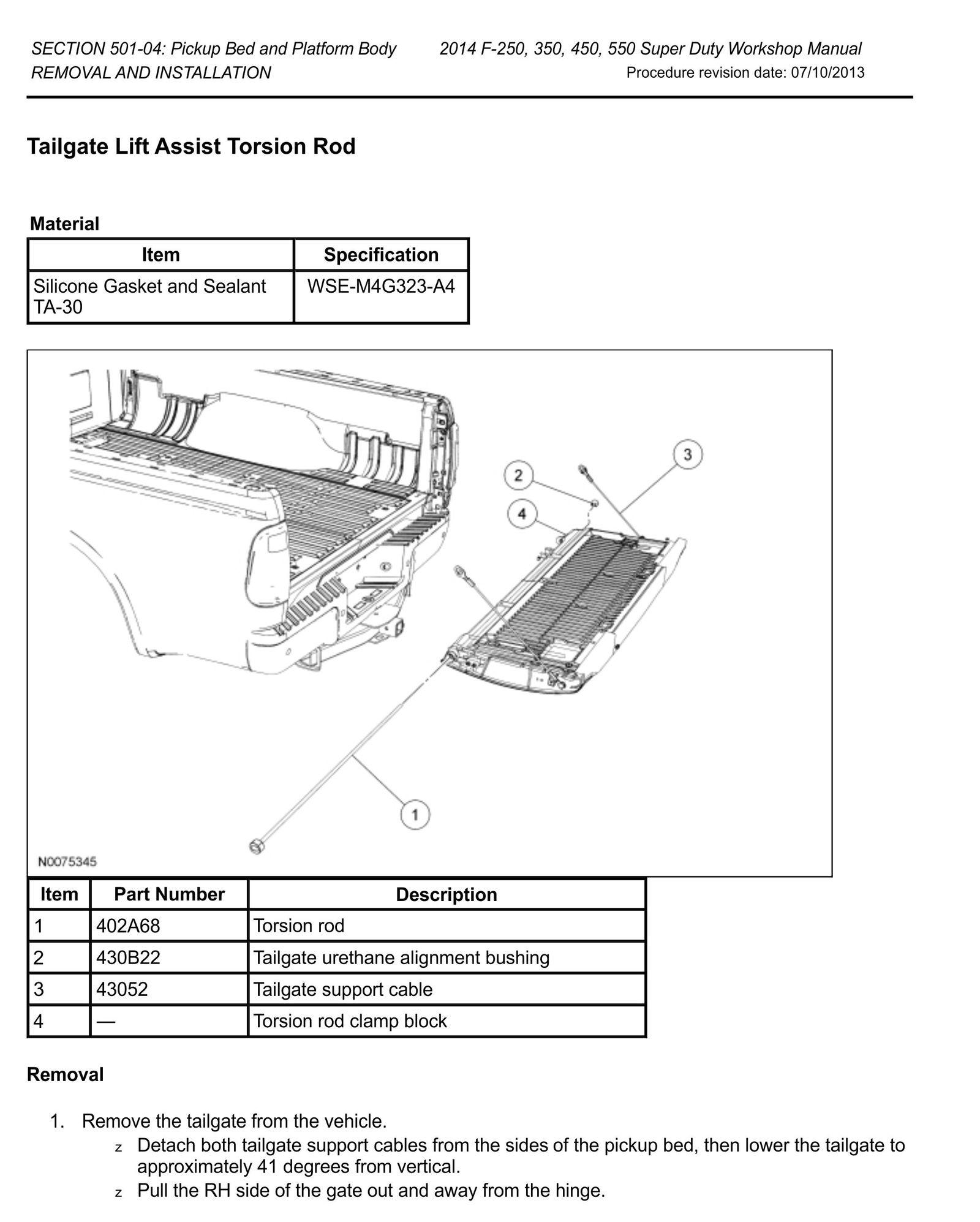 2002 f150 4x4 torsion bar removal