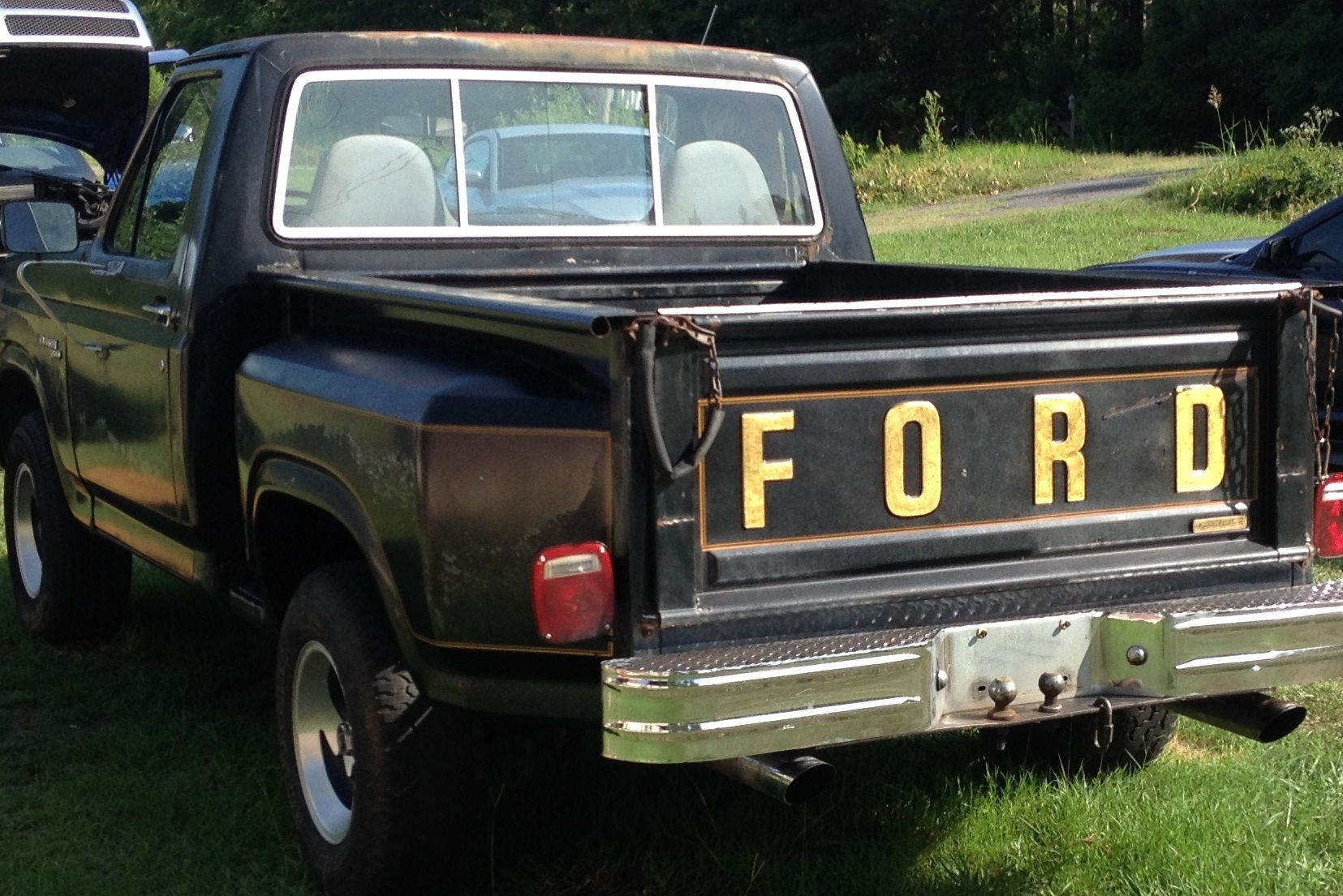 39 81 f100 free wheeling edition special edition badge ford truck enthusiasts forums. Black Bedroom Furniture Sets. Home Design Ideas