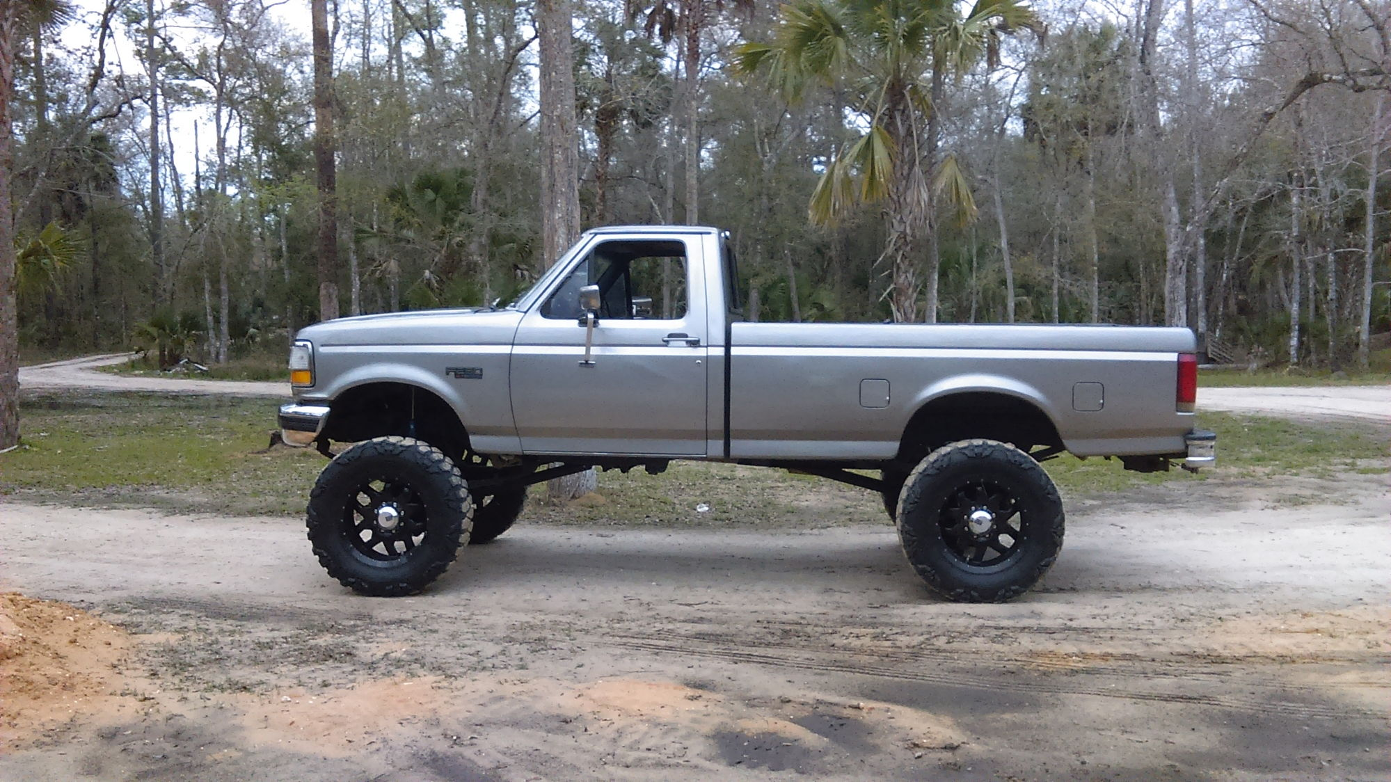 Ford F 250 Lifted >> 93 f250 6'' lift how big of a tire - Ford Truck Enthusiasts Forums