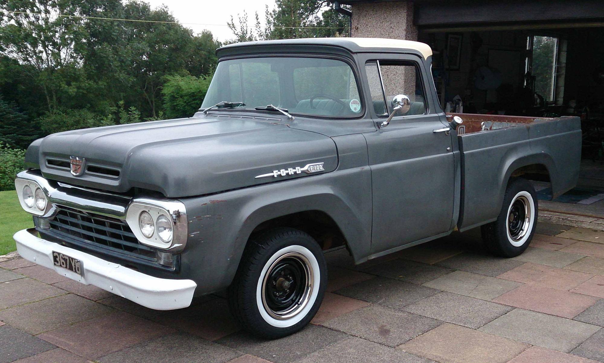 57-60 F100 Lowered/Slammed Pics & Specs - Ford Truck ...  57-60 F100 Lowe...
