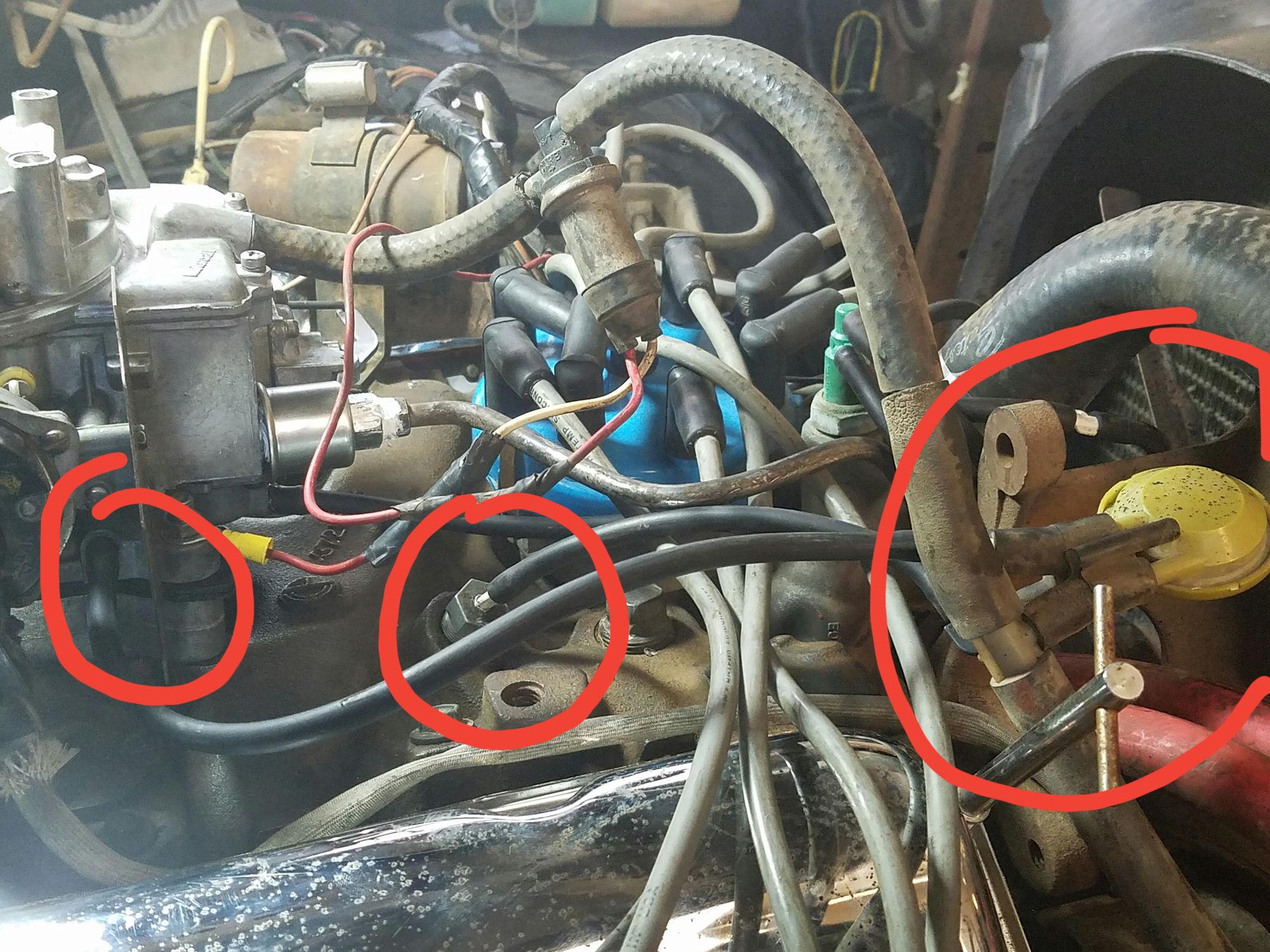 1981 F250 Vacuum Hose Routing