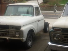 Camper Special and F-100 Flareside