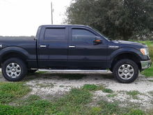 """2"""" Level up front...Later swapped to 3"""" blocks in rear to give back some rake"""