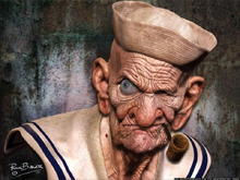 real life popeye