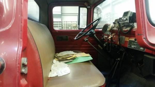 Classic 4X4 Trucks For Sale >> Craigslist 1956 big job 800 M-H 4x4 fire truck - Ford Truck Enthusiasts Forums