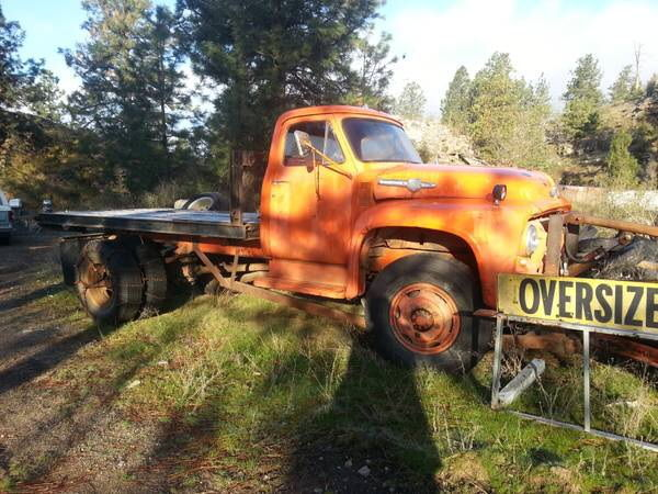 1954 f800 4x4 for sale on craigslist- NOT MINE - Ford ...