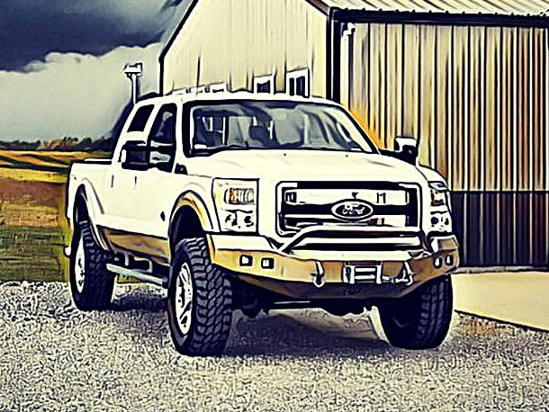 """Ford Dealers In Ky >> Lifted 2011 F250 King Ranch, 37"""" tires, loaded - Ford ..."""