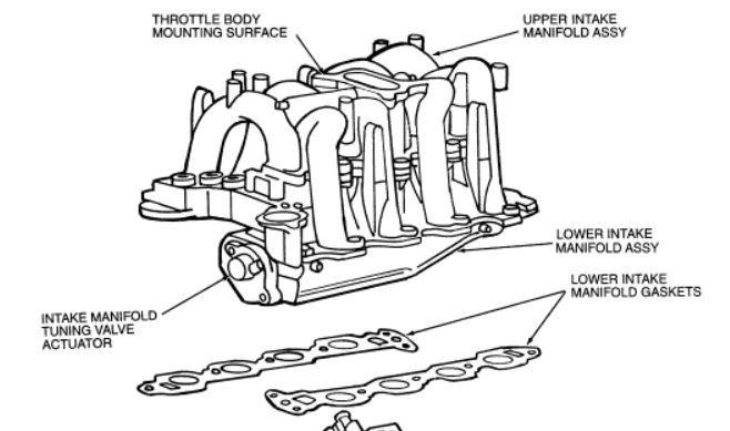 sensor identification 99 f250 5 4  lower intake manifold