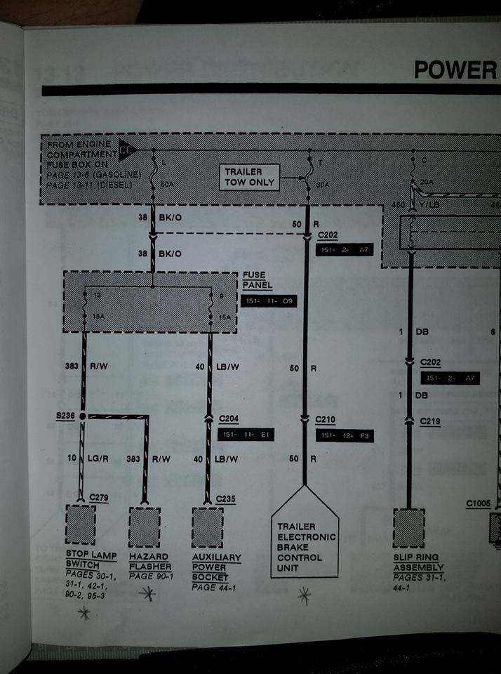 1992 F250 wiring colors - Ford Truck Enthusiasts Forums