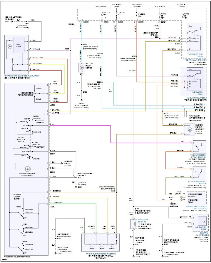 2002 7 3 Ac Wiring Diagram Ford Truck Enthusiasts Forums