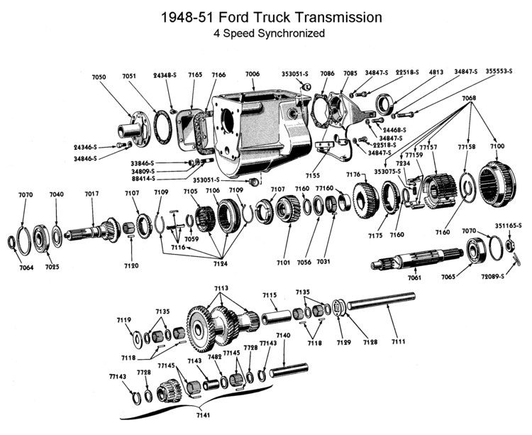 56 T98 Transmission From C500 Ford Truck Enthusiasts Forums
