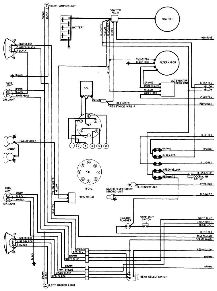 1974 Ford F100 Alternator Wiring Diagram
