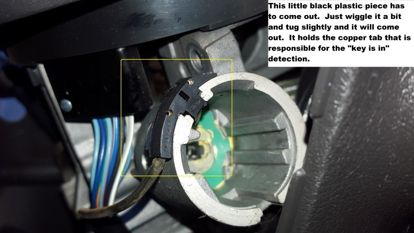 Key in door open chime disable - with pictures! - Ford Truck
