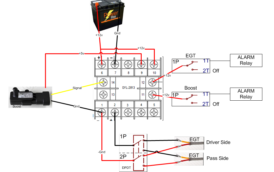 egt wiring diagram egt wiring diagram gauge setup with safety and overrides- auber instruments ...