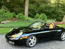 Electric Porsche Boxster Conversion EV