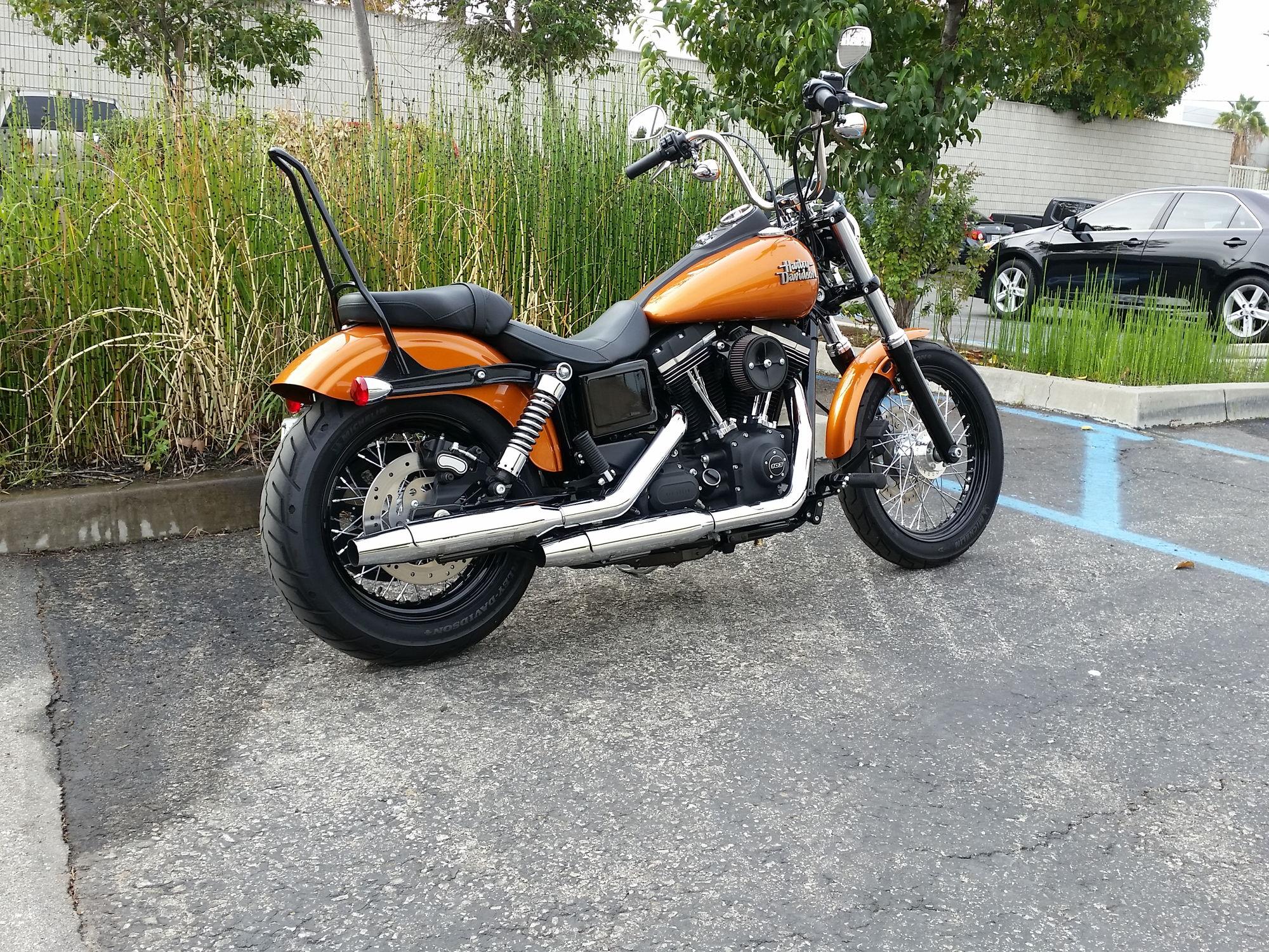 Harley Davidson Sissy Bar Street Bob