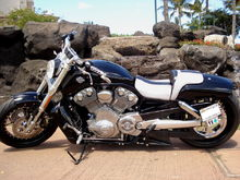 The old V-Rod muscle