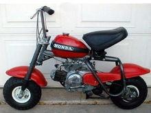 Honda QA50.  I was 8.