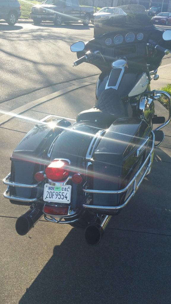 Police Fender Marker Plate,fits Harley Davidson motorcycle models