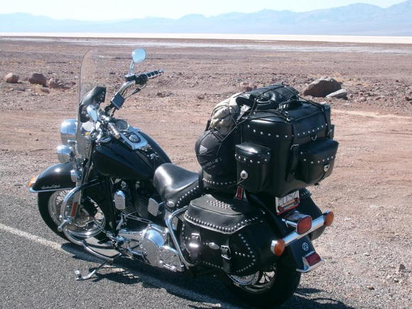 heritage loaded in death valley