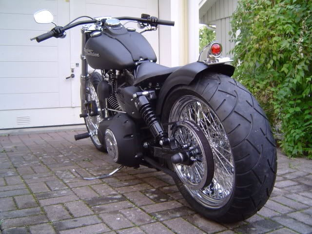 Is putting drag bars on a street bob (in place of the ...  Harley Davidson Dyna Street Bob Drag Bars