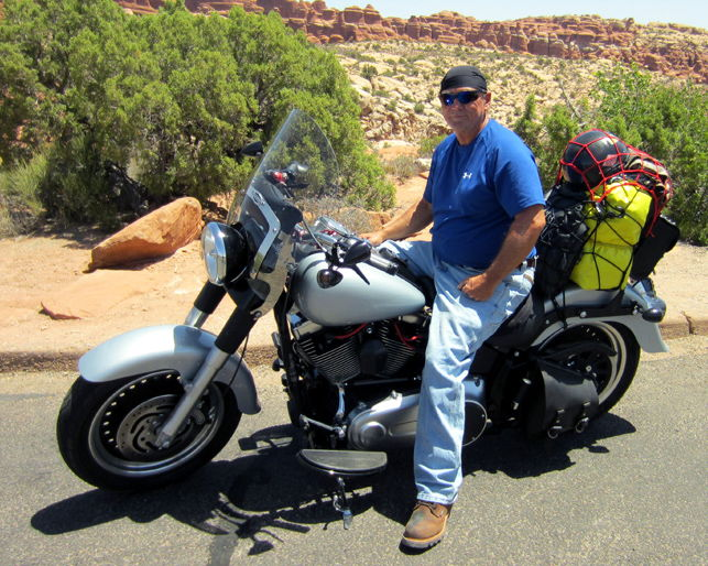 Sissy bar for carrying things? - Harley Davidson Forums