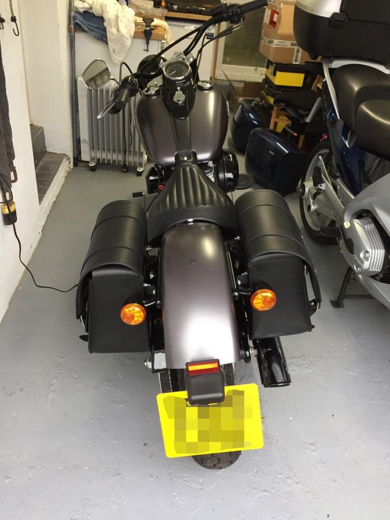 Harley Davidson Saddlebags: Softail Slim Saddlebags