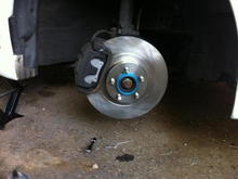 new rotor and pad