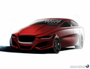 2015 Jaguar XE Concept Drawing