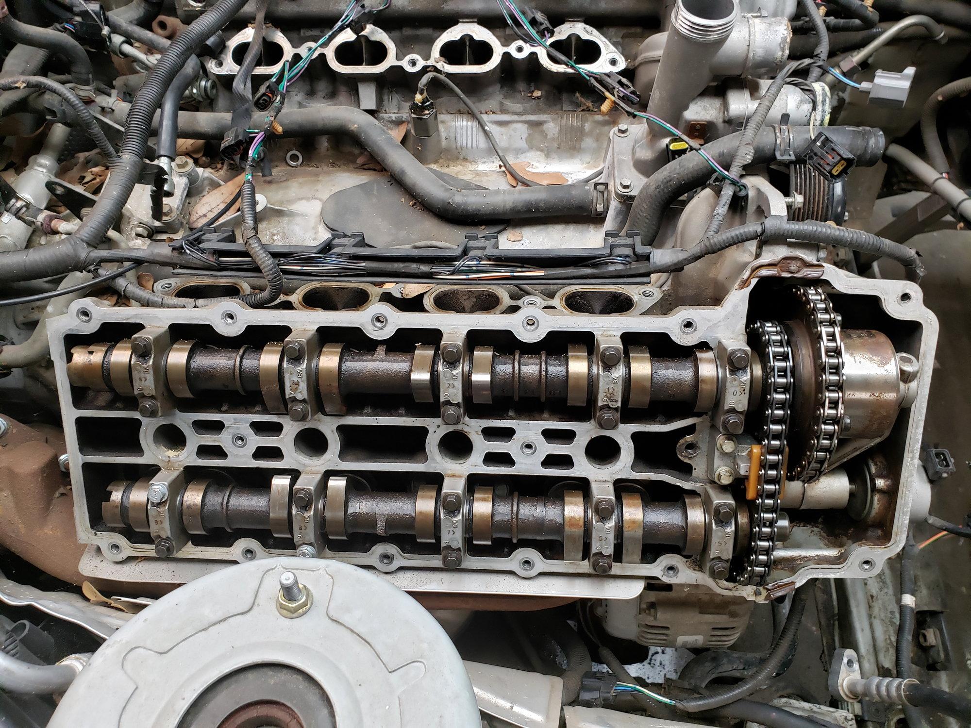 Jaguar XK8 97 98 LEFT CAMSHAFTS CAM SHAFT SET OF 2  4.0 V8 INTAKE /&  EXHAUST