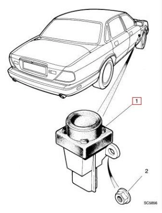 unknown electric problem a lot of errors jaguar forums jaguar  i have a lhd car so it is in the passenger area close to the glove box the inertia switch looks like in the picture attached you simply press it and