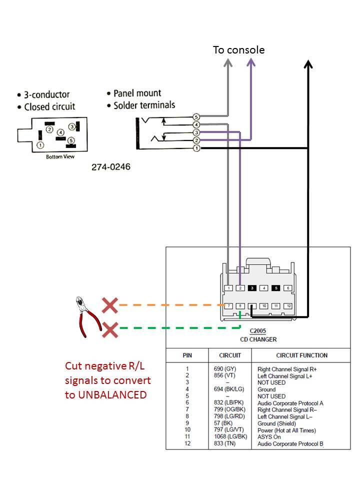early s type cd aux in solution 12 pin plug jaguar. Black Bedroom Furniture Sets. Home Design Ideas