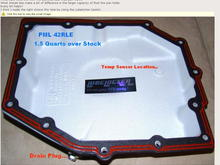 PML Pan and LL Gasket