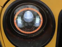 headlight and halo