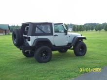 jeep jk black wheel 022