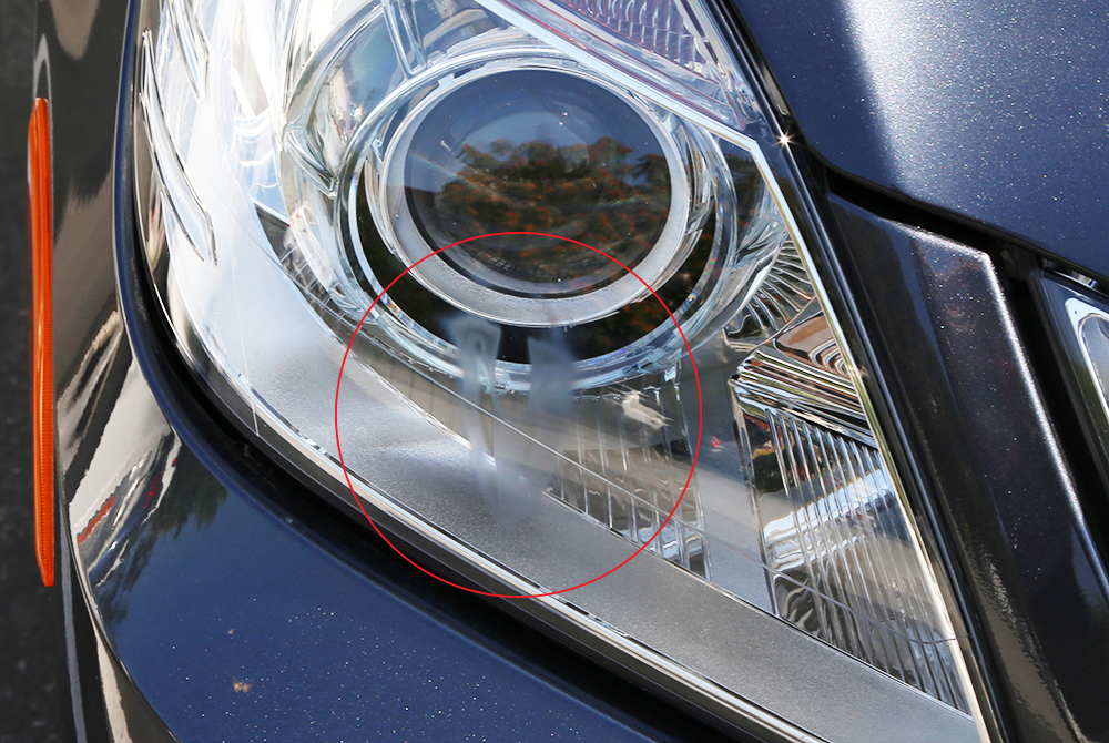 "Burned-in headlight ""etching""? Does anyone else have this ..."