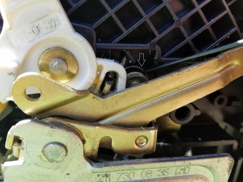 Diy W211 Rear Interior Door Handle Will Not Open The Door