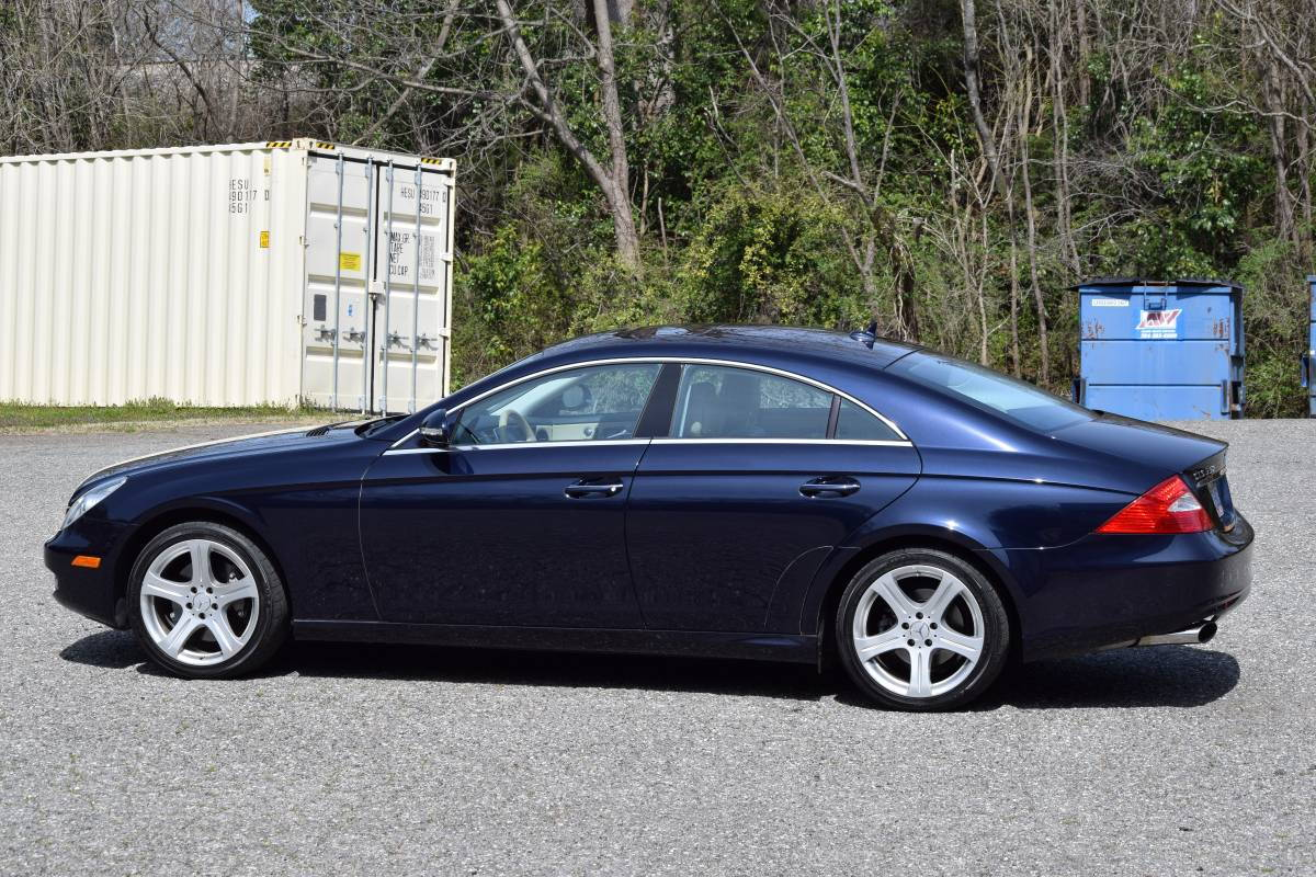 Carmax Extended Warranty >> 2007 Mercedes Cls550 32k Miles Near Mint Condition Carmax