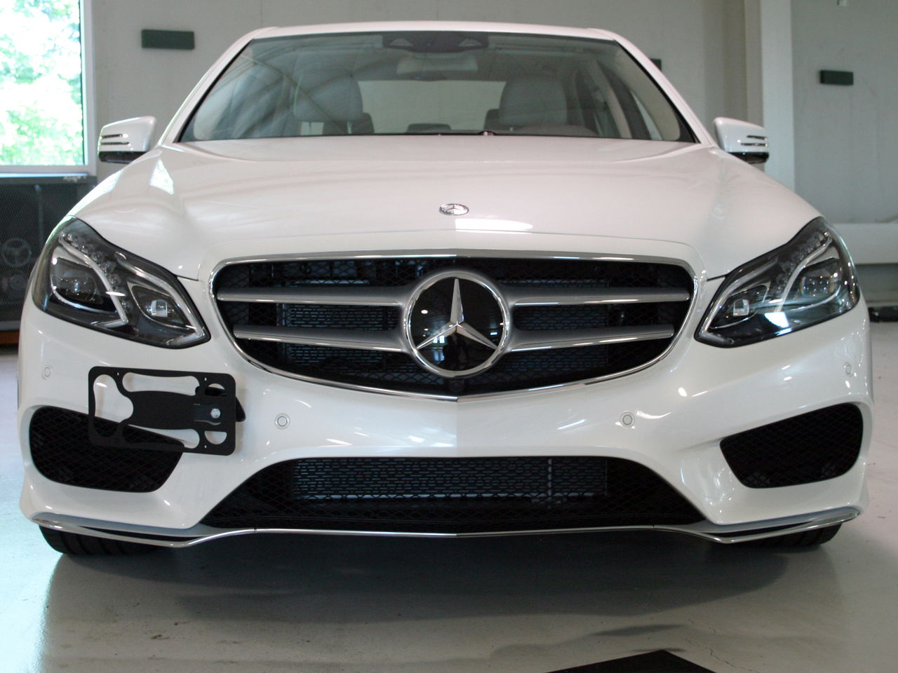 Front License Plate Solution For Facelift E63 Tow Hook Plate Mbworld Org Forums