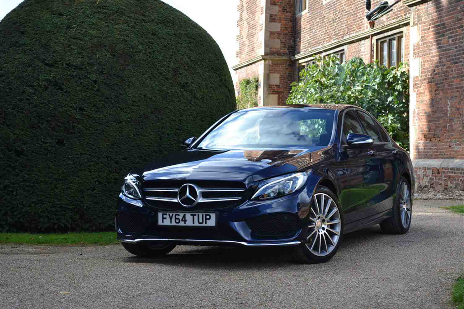 My diamond white c class forums for Blue mercedes benz